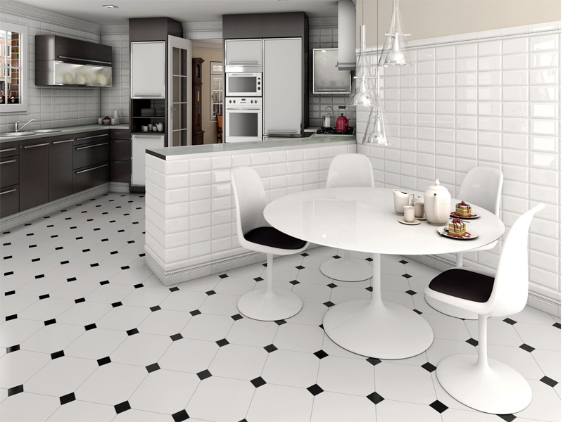 Kitchen Floor Tiles In Diffe Designs