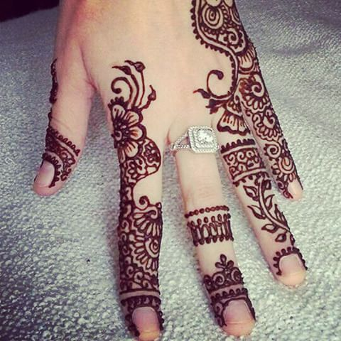 9 new and gorgeous bail mehndi designs with pictures styles at life here are the latest designs in bail mehndi for girls these incorporate the fingers and the rings worn too so this design makes space for the ring that thecheapjerseys Image collections