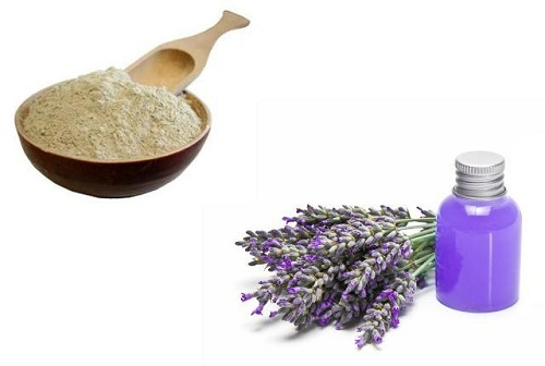 Lavender & Lemon Oatmeal Mud Mask