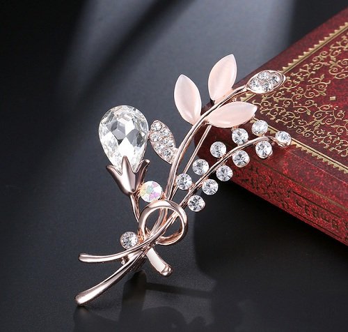 Leaf Hijab Pin Brooches