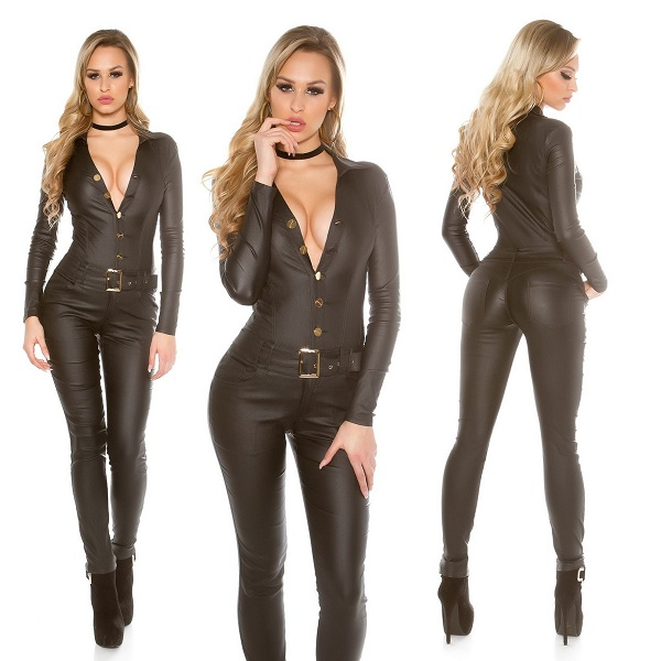 Leather Jumpsuits for Womens