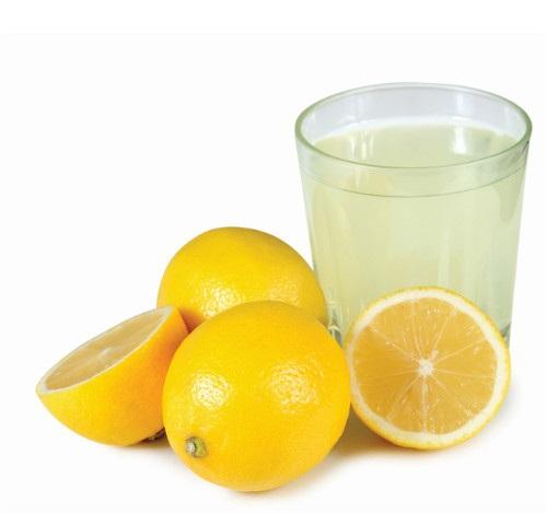 lemon juice to cure forehead acne
