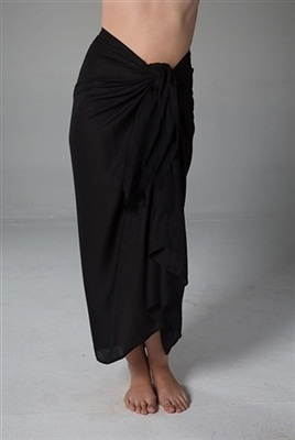 Long Black Sarong