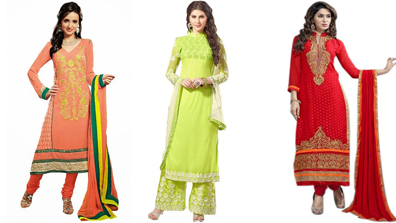 Long Salwar Suit Designs