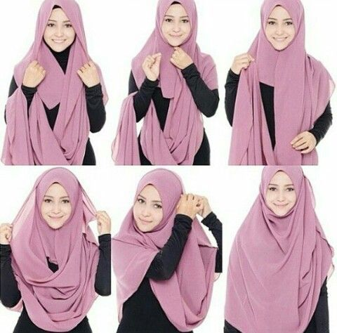 Long Hijab Style for School