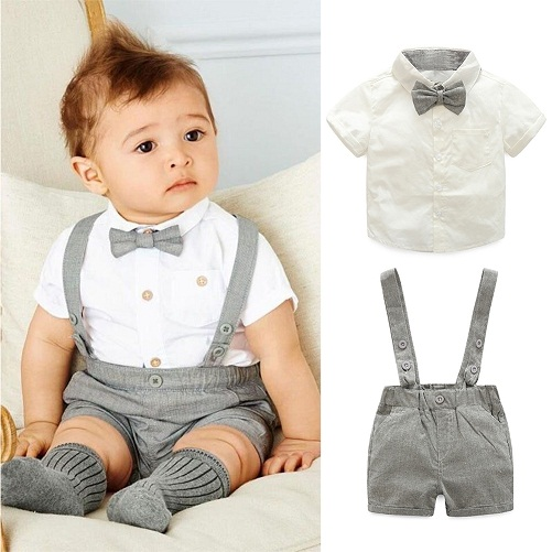 e11bb36fb4ae3 This is a cute little outfit for boys of any age. It is perfect dress for  as a party wear