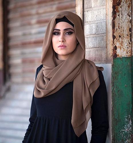 Loose Hijab Style