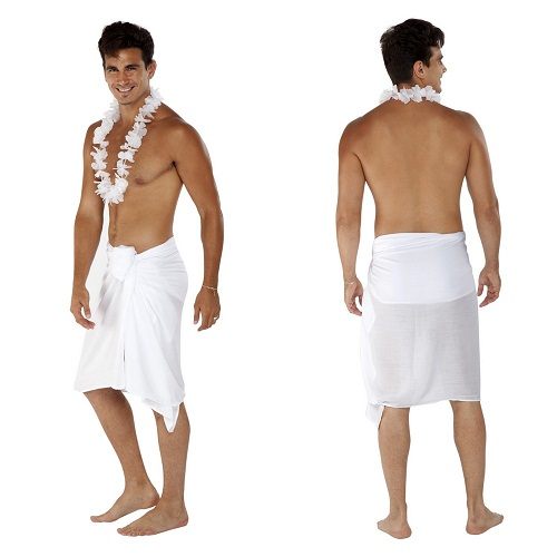 how to wear a beach sarong