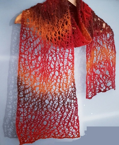 Magic Lace Knitting Scarf