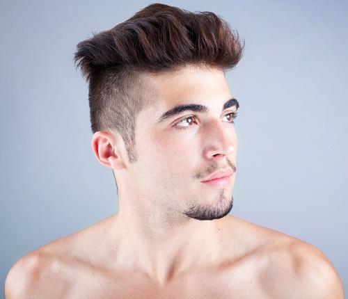 Mohawk Medium Hairstyles for Men