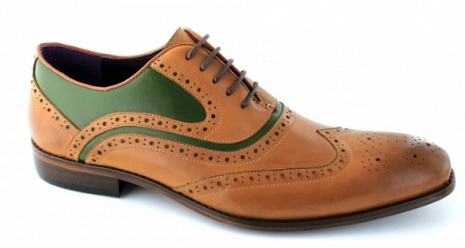 Men's Lace up Leather Brogue