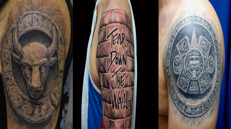 Mind-Blowing Stone Work Tattoo Designs and Ideas