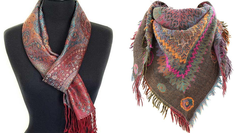 Modern Fancy Scarf Designs For Women And Men In Trend