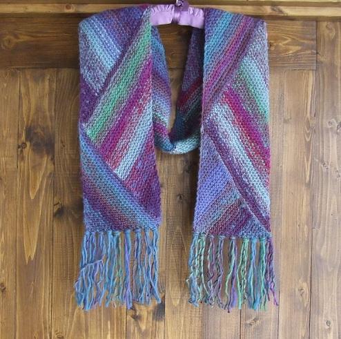 Multi Colour Woollen Scarf