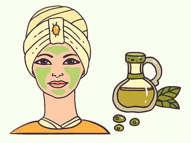 olive oil for face