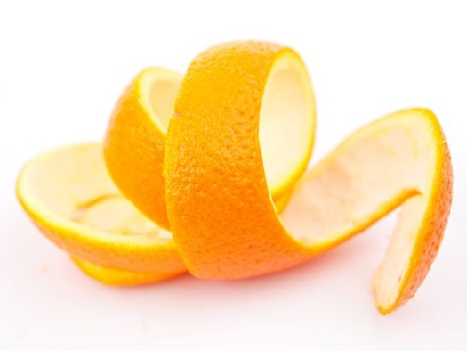 Orange Peel to Remove Pimples On Chin