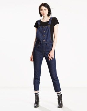 Orange tab Women's Overall