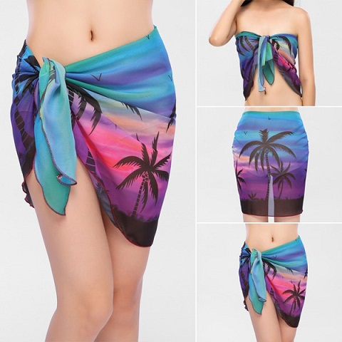 Printed Beach Sarong