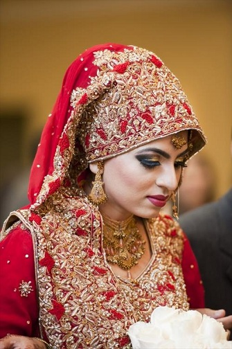 Pakistani Wedding Hijab