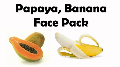 Papaya and Banana Fruit Mask