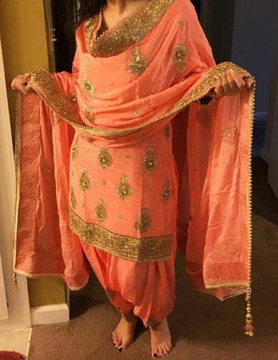 d3c08b3ff4 20 Latest Punjabi Salwar Suits To Know That Traditional Style of Punjab