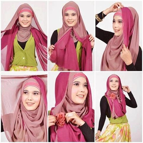 Pashmina Style Hijab