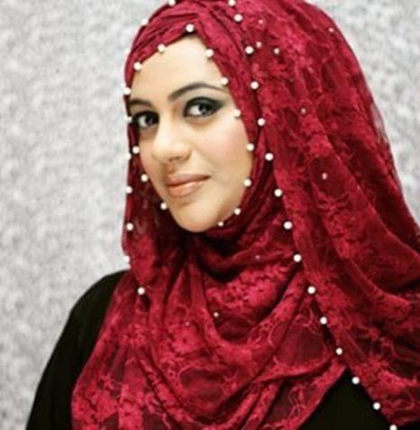 Pearl Lace Hijab