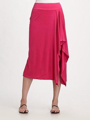 Pink Womens Sarong Skirt