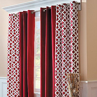 The 25 Best Burgundy Curtains Ideas On Pinterest Painted Walls And Interior Design For Hallways