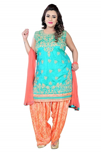 09a4e1553df Try These 15 Fashionable Plus Size Salwar Suits!