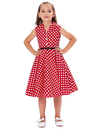 Polka Dotted Dress for Baby Girl  Polka dots is just the thing to wear ... 68b1219c0ee1