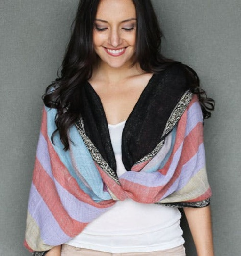 Poncho Style Neck Scarf