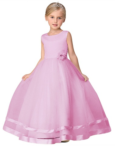 f38abb4e6 The Princess style Long Frocks for 11 years old girls, is probably the best  frock design discovered yet. It gives your girl child an amazing fantasy ...