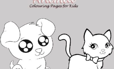 Printable Animal Colouring Pages for Kids
