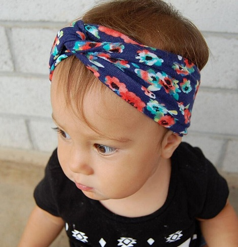 Printed Floral Headbands