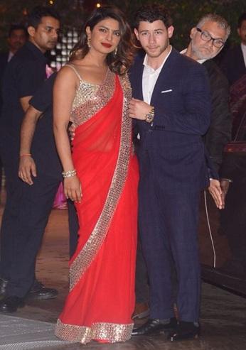 Priyanka Chopra in Saree
