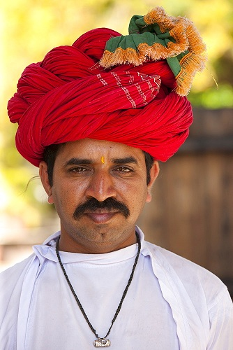 Rajasthani Head Scarf