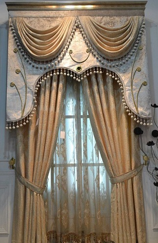 Superb This Is Very New Luxury Blackout Curtain Design. You Can Use This Beautiful  Curtain In Any Rooms To Make It Grand. It Is A Woven Type Curtain And Has  Done ...