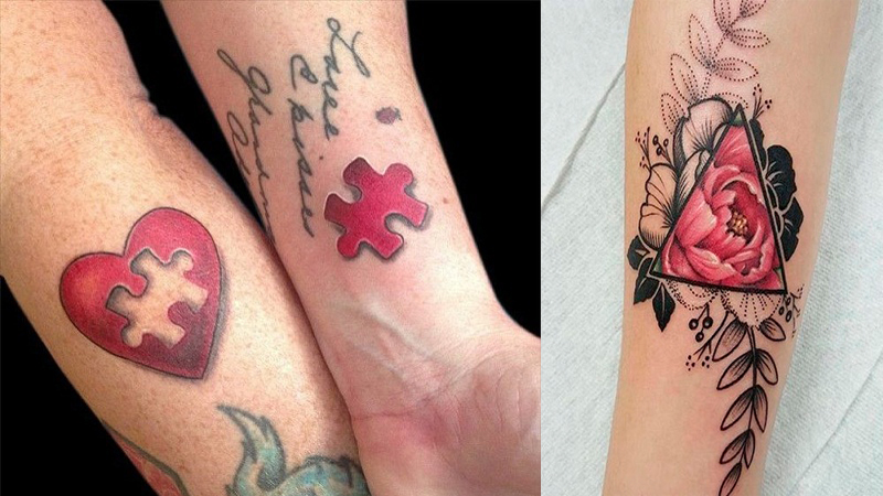 red tattoo designs