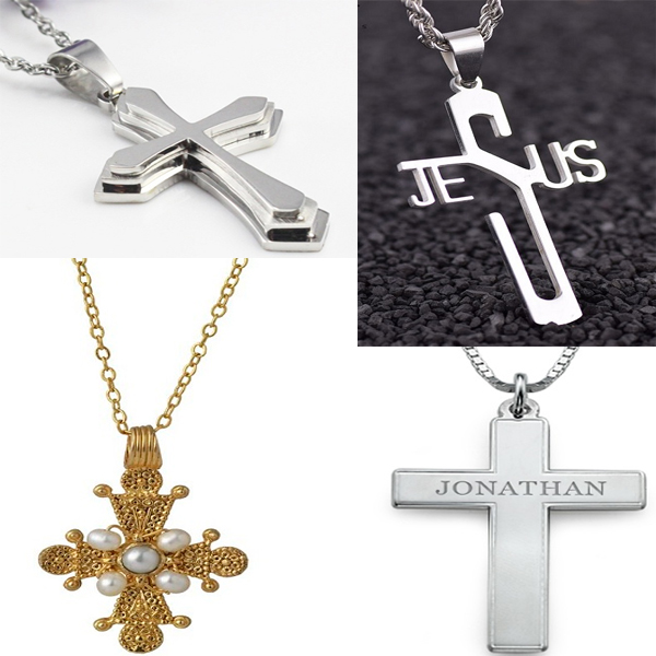 Religious Cross Locket