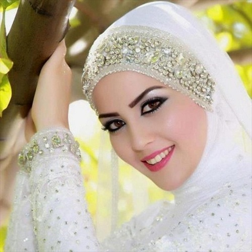 Royal Diamante Head Piece Hijab