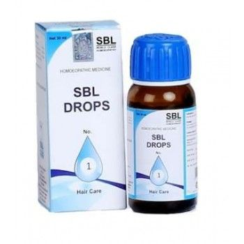 SBL Drops No.1 For Hair Loss And Regrowth