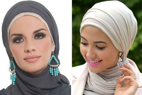 Smart Hijab with Earrings