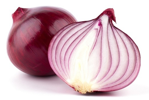 Smell an onion for nose bleeding
