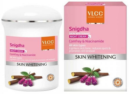 Snigdha Skin Whitening Night Cream For Acne Prone Skin