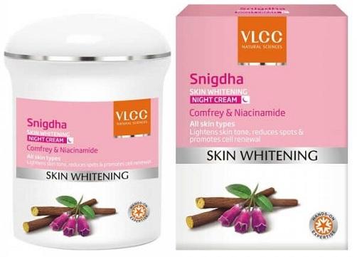 Snigdha Skin Whitening Night Cream For Acne Prone Skin