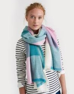 Soft Teal Scarf for Women