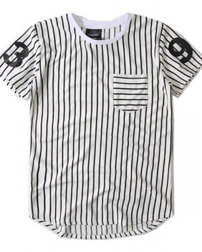 The striped or t-shirt with strips is a kind a hip hop t-shirts  in India 303626982b30