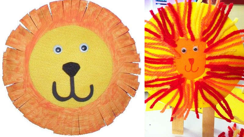 Stunning Lion Craft Design Ideas For Kids and Preschoolers
