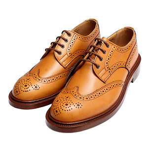 Stylish Ladies Brown Brogue Shoes